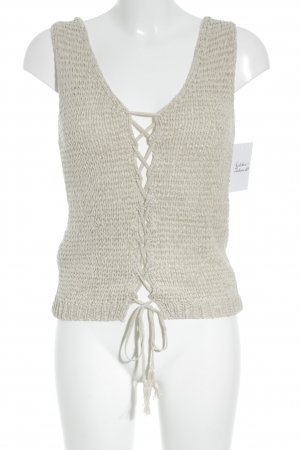 Intimissimi Knitted Top cream casual look