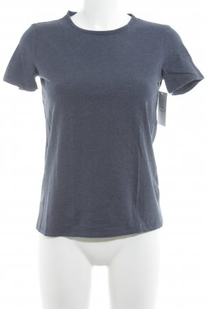 Intimissimi T-Shirt dunkelblau meliert Casual-Look