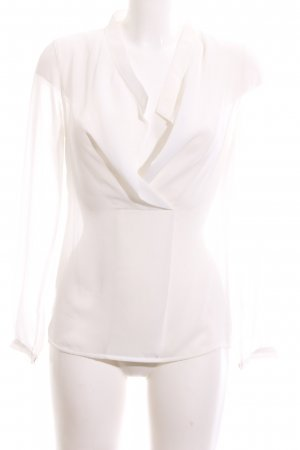 Intimissimi Transparenz-Bluse weiß Business-Look