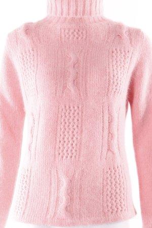 Intrama Rollkragenpullover rosa