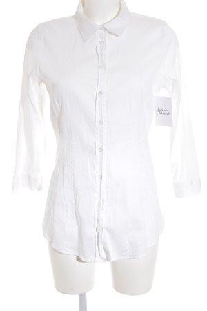 Intrend Langarm-Bluse weiß klassischer Stil