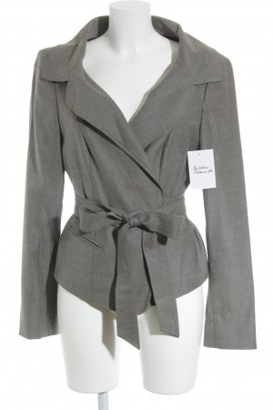Intrend Long-Blazer grau-schwarz Business-Look