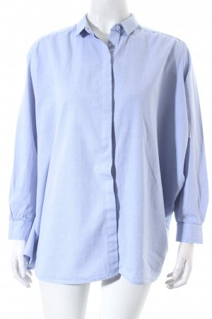 Intropia Blouse oversized bleu azur style classique