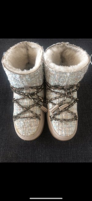 Inuikii Bottes de neige multicolore cuir