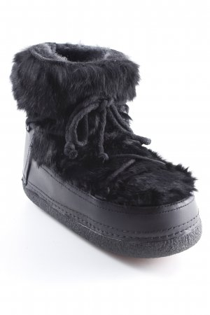 "Inuikii Winterstiefel ""Rabbit Black"" schwarz"