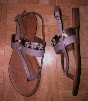 Inuovo Toe-Post sandals multicolored leather