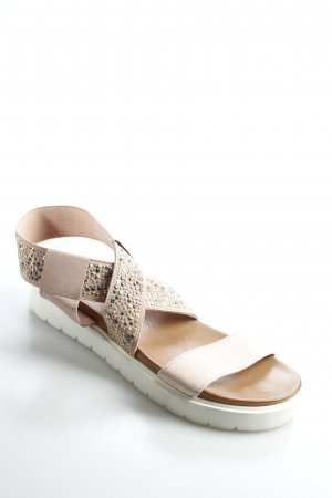 Inuovo Plateau-Sandalen mehrfarbig Casual-Look