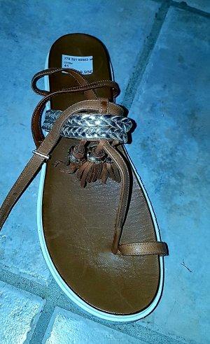 Inuovo Platform Sandals brown