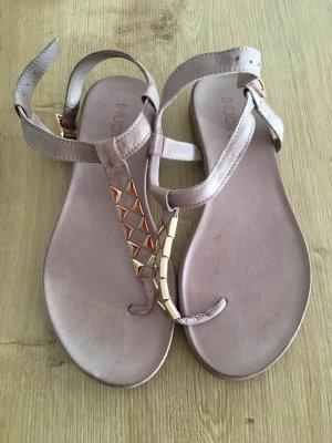 Inuovo Toe-Post sandals rose-gold-coloured-mauve