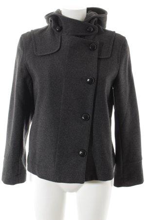 Invertére Coatwrights Giacca di lana grigio scuro puntinato Stile Brit