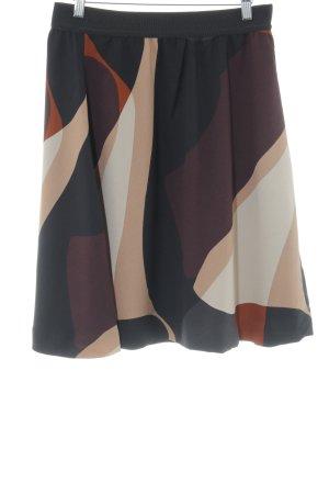 InWear Jupe taille haute motif abstrait style décontracté