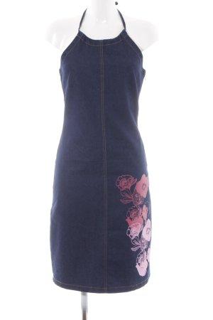 InWear Denim Dress flower pattern romantic style