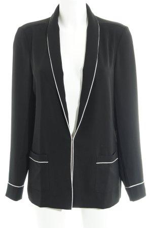 InWear Jerseyblazer schwarz-weiß Paris-Look