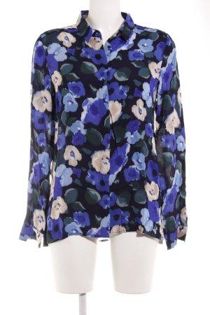 InWear Langarm-Bluse Blumenmuster Casual-Look