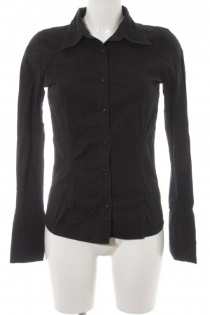 InWear Langarm-Bluse schwarz Business-Look