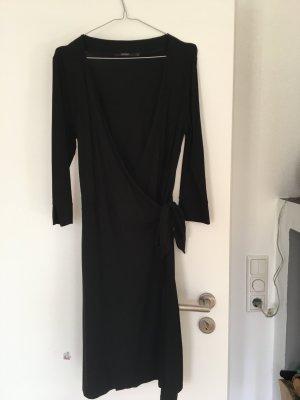 Inwear schwarzes Wickelkleid Größe M