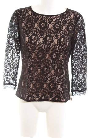 InWear Lace Blouse black-nude elegant