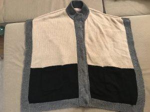 Inwear Strickjacke Poncho Weste XXL 44 46 Winter Pullover