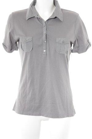 InWear T-Shirt grau Casual-Look