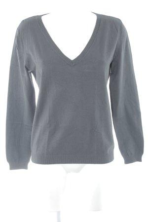 InWear V-Ausschnitt-Pullover dunkelgrau Casual-Look