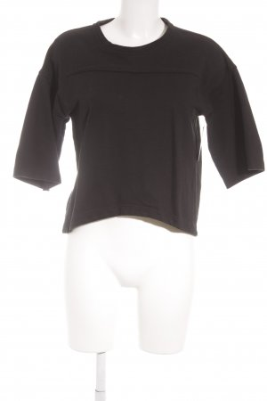 IO Ivana Omazić Cropped Shirt schwarz sportlicher Stil