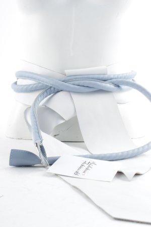 Ioanna Kourbela Hip Belt white-cornflower blue extravagant style