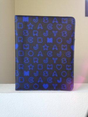 Marc Jacobs Carcasa para teléfono móvil azul-negro