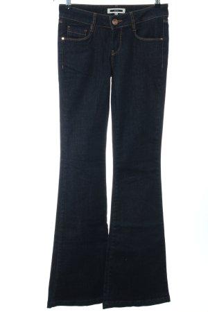 Ipekyol Jeans a zampa d'elefante blu stile casual
