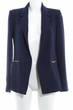 Ipekyol Long-Blazer dunkelblau Business-Look