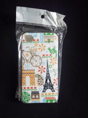 Iphone 4 4s Hülle Case Tasche Silikon Paris Vintage * Neu