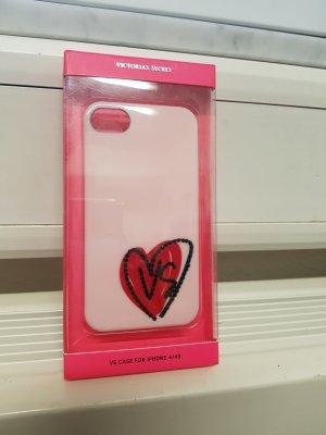 iPhone 4/4s Hülle Victoria's Secret weiß Logo