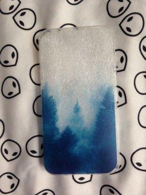 Carcasa para teléfono móvil azul cadete-azul pálido