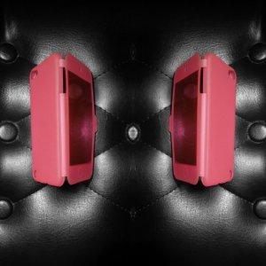 iPhone 5/5S pink Handyhülle + Klappfunktion