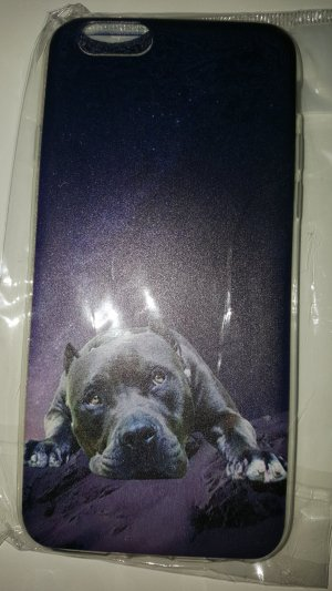 Mobile Phone Case black-lilac