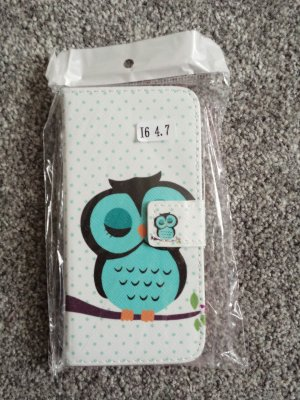 Iphone 6 Hülle Case Hartschale Flip Cover Case Hardcase Klapptasche * Neu
