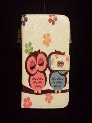 IPhone 6 Hülle Case Hartschale Flip Cover Hardcase Klapptasche Leder * Neu