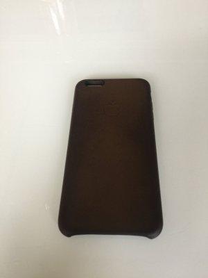 iPhone 6 + Leder Handyhülle Braun