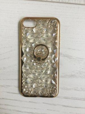 iPhone 7 handyhülle , NEU, Silikon , rosa Transparent mit Strass