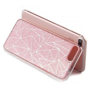 Hoesje voor mobiele telefoons roségoud-goud