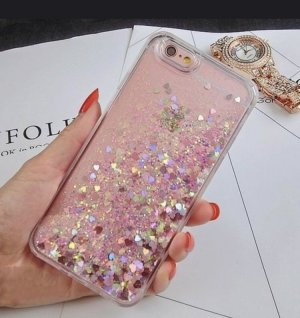 iPhone 7 Hartcase Glitzer