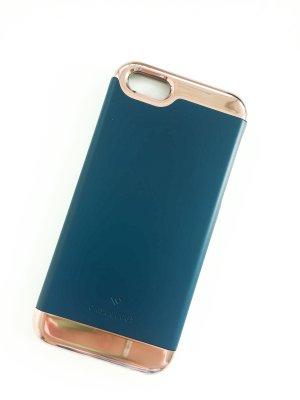 iPhone Case 5 / 5S / SE Caseology Roségold & blau