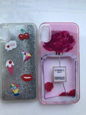 Iphoria Porte-clés blanc-rose