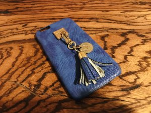 Iphoria Bolso color oro-azul