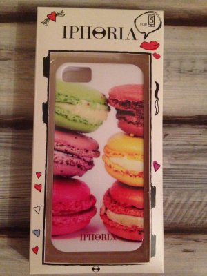 iphoria macarons handyh lle case iphone 5. Black Bedroom Furniture Sets. Home Design Ideas