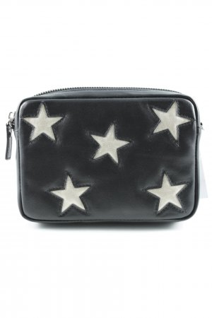 Iphoria Mini Bag black-gold-colored star pattern casual look