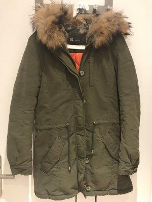 IQ+ Berlin Hooded Coat multicolored fur