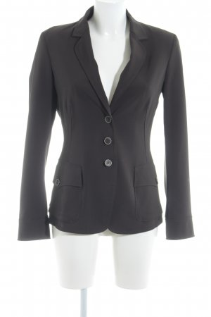 IQ women Long-Blazer dunkelbraun Casual-Look