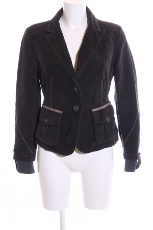 IQ women Sweatblazer braun-hellgrau Casual-Look