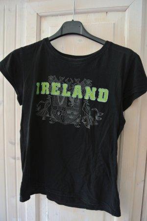IRELAND Shirt Schwarz Gr. 36/S