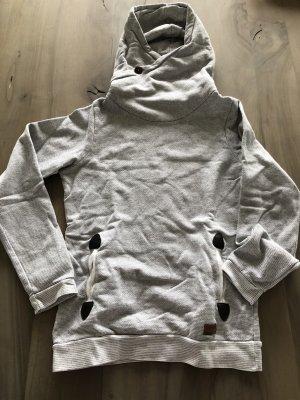 Iriedaily Hooded Sweater light grey